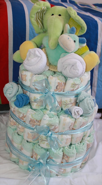Baby Gifts From Australia : Nappy cakes gifts great for baby shower mackay