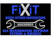 FiXiT Diesel Fitters Contractors - All Mechanical Repairs