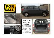 HOLDEN CAPTIVA ONLY 8 MNTH OLD.  AS NEW CAR.  SECONDHAND PRICE