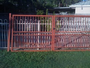 Powder Coated Aluminium gates