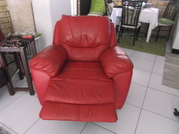 Comfortable Red Recliner